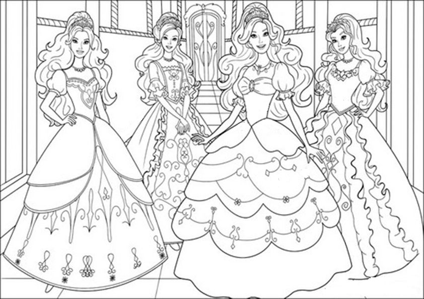 Ausmalbilder Barbie Prinzessin Ausmalbilder Barbie Prinzessin Barbie Malvorlagen Malvorlagen Fur Madchen Ausmalbilder Barbie