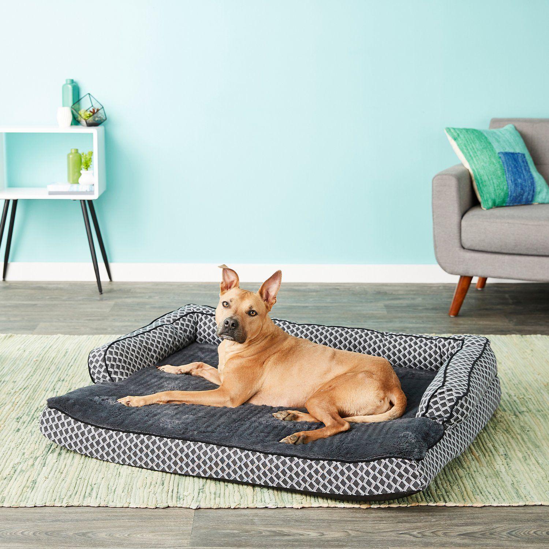 Amazing Furhaven Comfy Couch Orthopedic Sofa Dog Cat Bed Diamond Ibusinesslaw Wood Chair Design Ideas Ibusinesslaworg