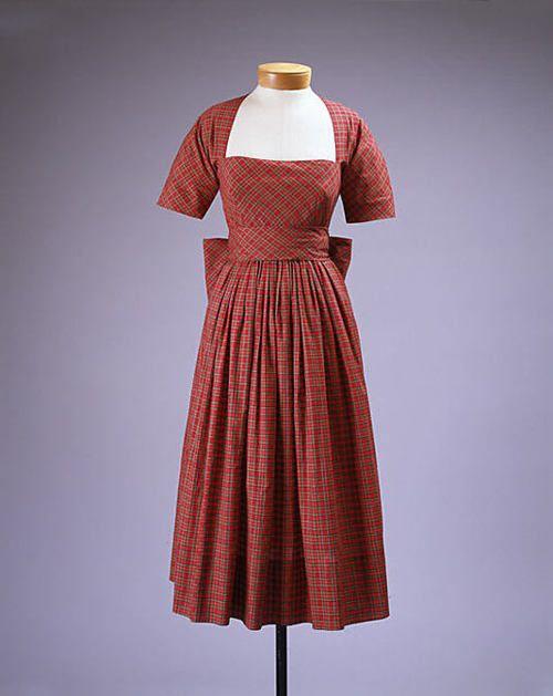 Viste Claire McCardell, 1949-1950 El Museo Metropolitano de Arte