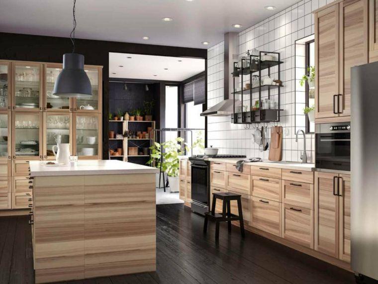ikea-cucine-componibili-mobili-legno-stile-eleganza-isola-centrale ...
