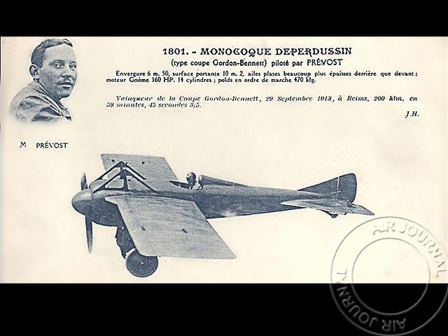 Le 27 septembre 1913 dans le ciel : Maurice Prévost en tête des éliminatoires françaises pour la Coupe Gordon-Bennett