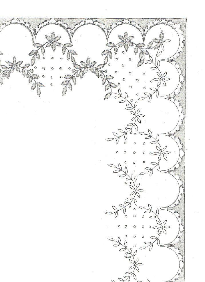 scan 5 (3) | bordados, calados, vainicas... | Pinterest | Bordado ...