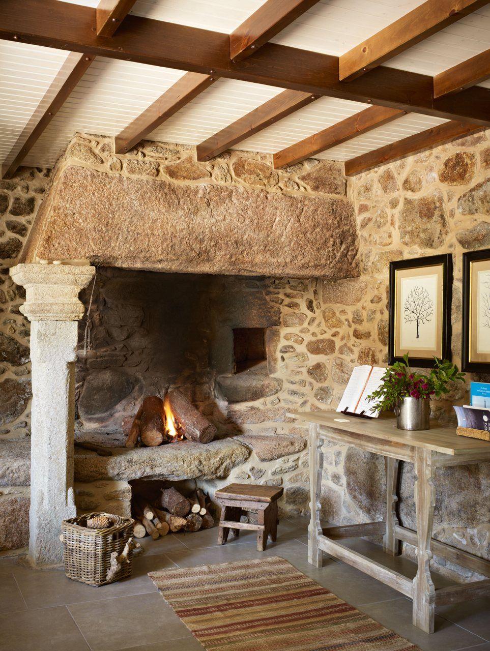 El hotel r stico lugar do cotari o casas - Piedra rustica gallega ...