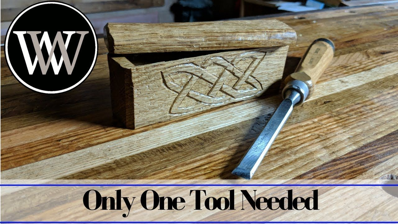 making a box with only a chisel   hand tool woodworking