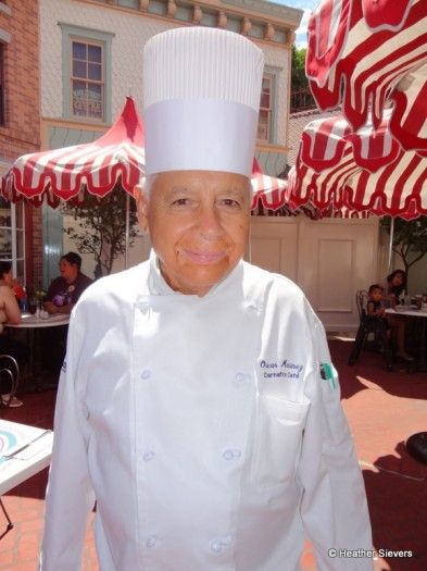 Chef Oscar recently celebrated 55 years working at