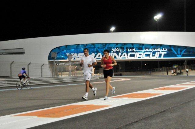 Running on an F1 track every week at Train Yas at Yas Marina Circuit, Abu  Dhabi, UAE | Circuit, Train, Yas