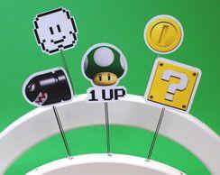 Topper Super Mario Bros