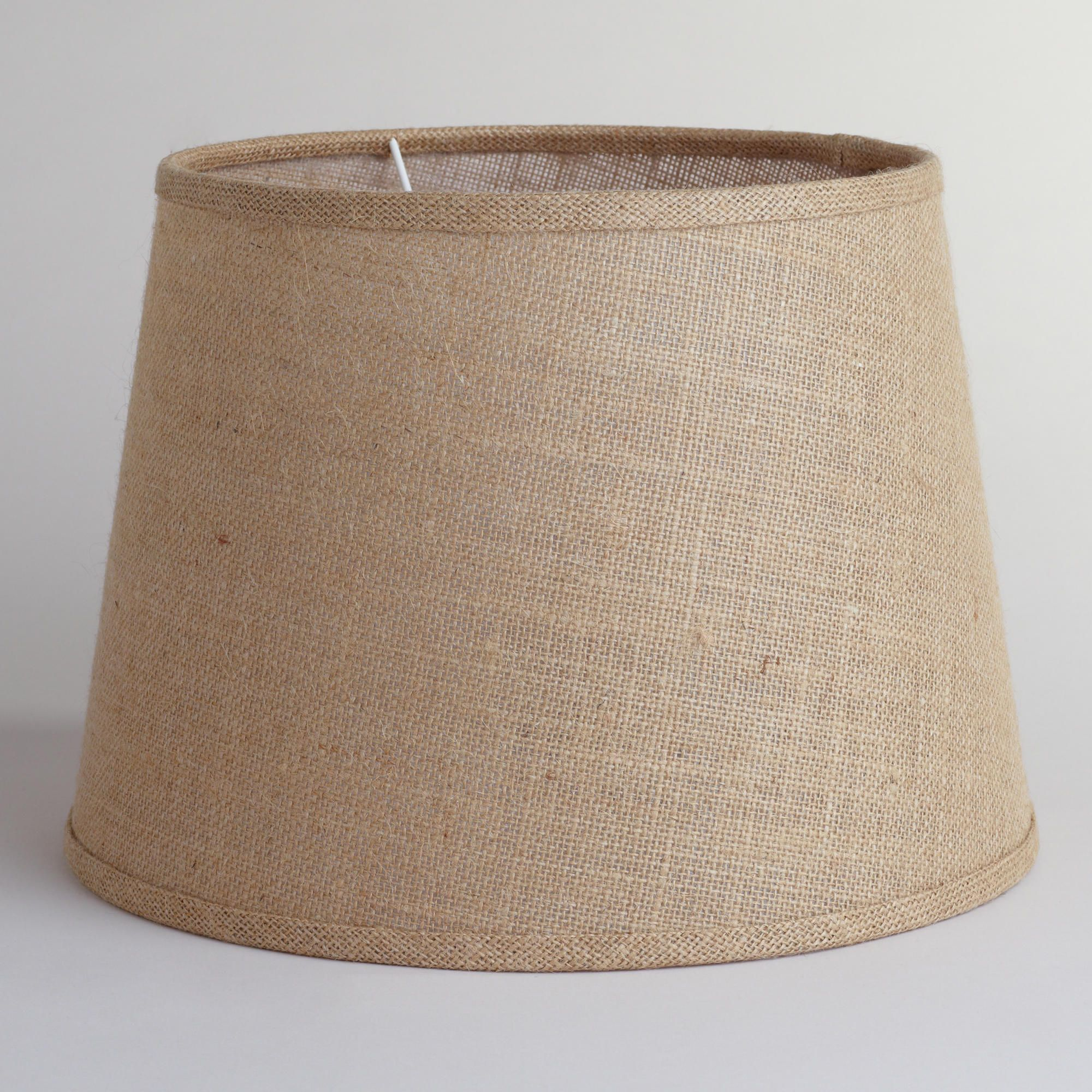 World Market Lamp Shades Natural Burlap Table Lamp Shade  World Market  Things For The Home