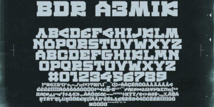 BDR A3MIK™ font download   Fonts   Fonts, Online fonts