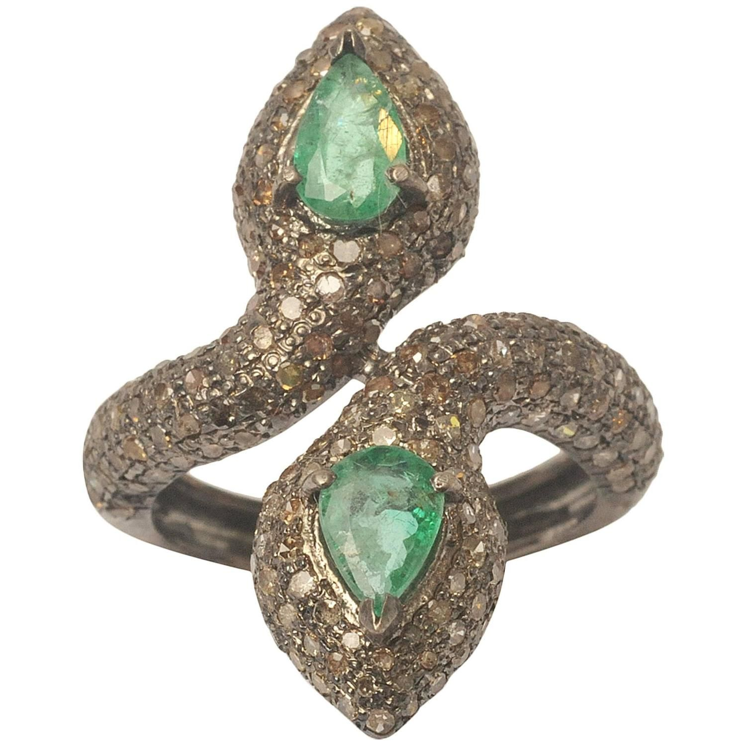 heat emerald s ring may green co mays treated brilliant jeff johnson birthstone