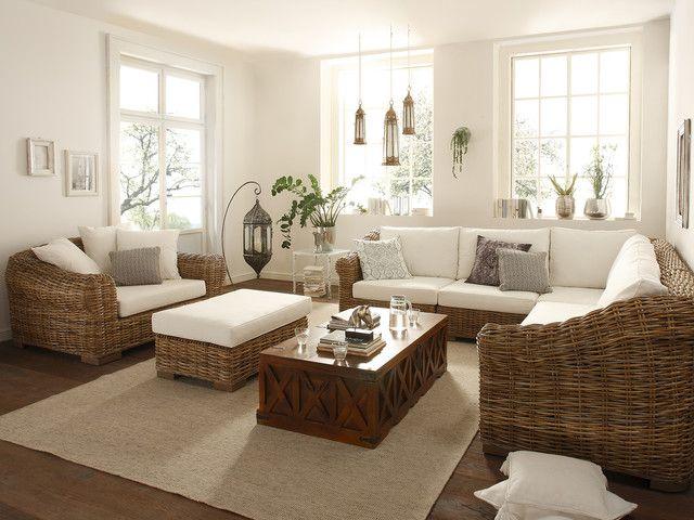 Rattanmöbel Wohnzimmer ~ Best wohnzimmer einrichten images living room