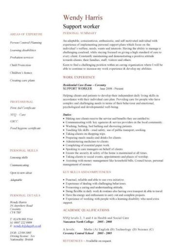 social work cv template (With images) Engineering resume