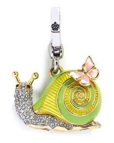 Pave Snail Charm: again I adore Juicy Couture