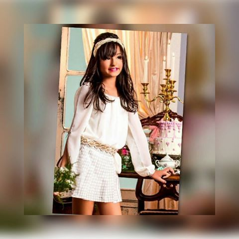 Muito glamour nesse look. #coleçãonova #exclusivo #teen #modateen #tendência #outonoinverno #novidades #meninas #instabloguers #itgirls #instafashion #luxo #luxoforgirl #dominiquebabykids #lojainfantil #miniblogueira #aquitem #glamour #trend