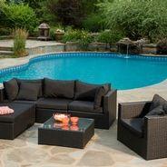 Manhattan Sectionnel Club Piscine Outdoor Decor Outdoor Pool