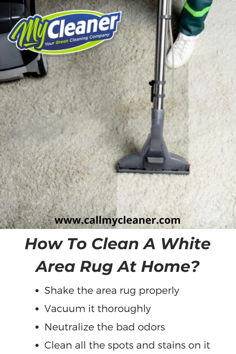 When you place a new white area rug in your drawing room or bedroom, it adds amazing beauty to that space. But, what if these white rugs start accumulating dirt and contaminated particles in it? Therefore, learn here the 4 easy steps to clean a white area rug at home.  #rug #rugcleaning #arearugcleaning #arearugcleaners #professionalarearugcleaningnearme #arearugcleaninginmyarea #localarearugcleaningservice #arearugclaningincapecoral