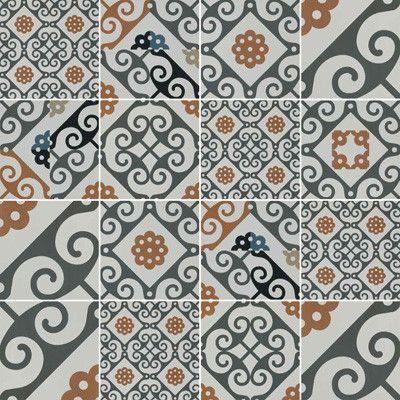 Die Fliesen Lassen Sich Zu Unterschiedlichen Patchworkmustern  Zusammenfügen, Hier Aus Der Serie Majolica. Ceramiche