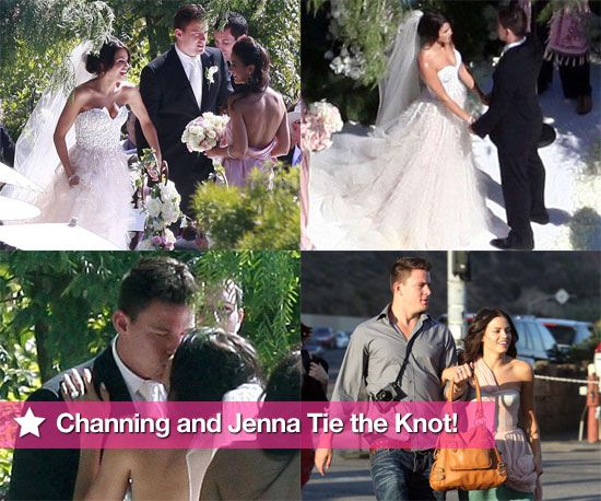 Channing Tatum And Jenna Dewan Tie The Knot