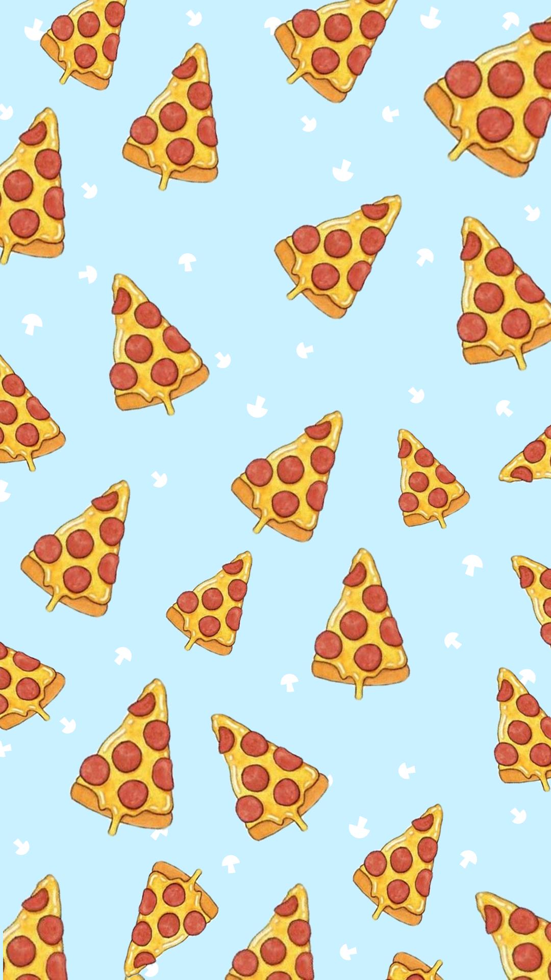Wallpaper Love Pizza By Gocase Random Stuff In 2019 Sfondi