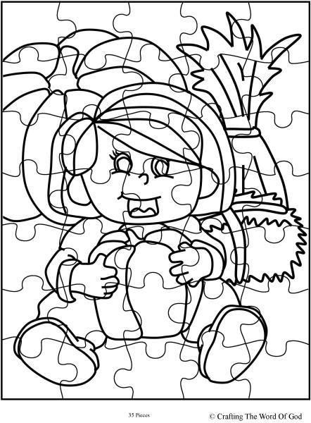 Thanksgiving Puzzle 15 (Activity Sheet) Activity sheets