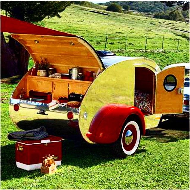 traveltrailer rv camping caravan camper tinytrailera