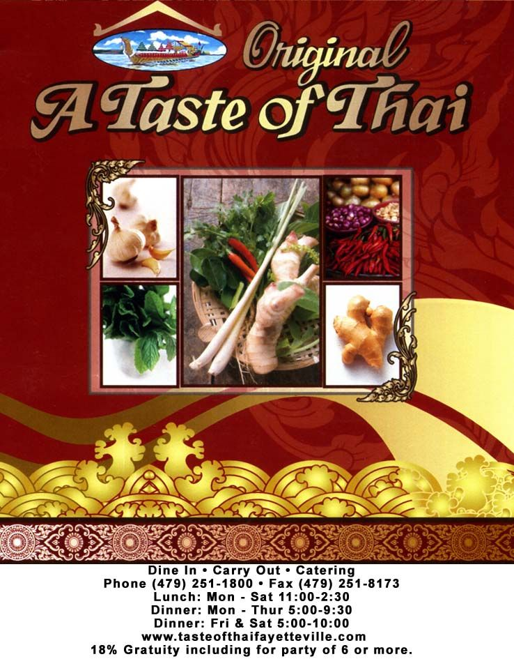 A Taste Of Thai Is Just Off The Square For Delicious Thai Food