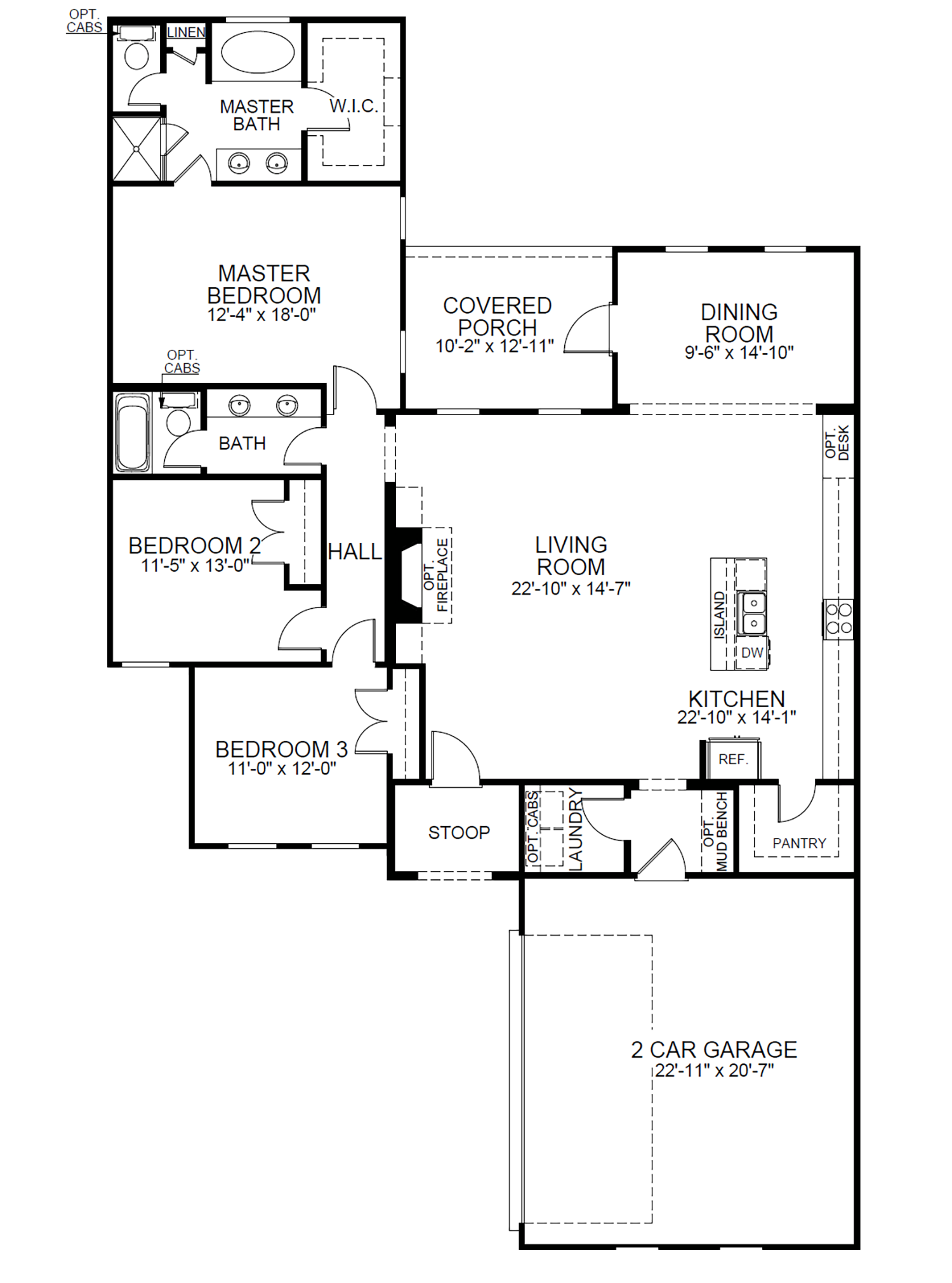 Richland B At Germany Oaks Level Homes Floor Plans House Floor Plans New Homes For Sale