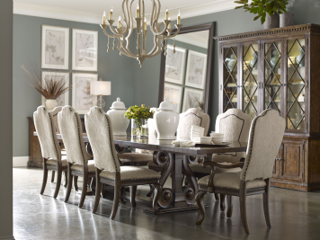 Firenze Trestle Dining Room Set