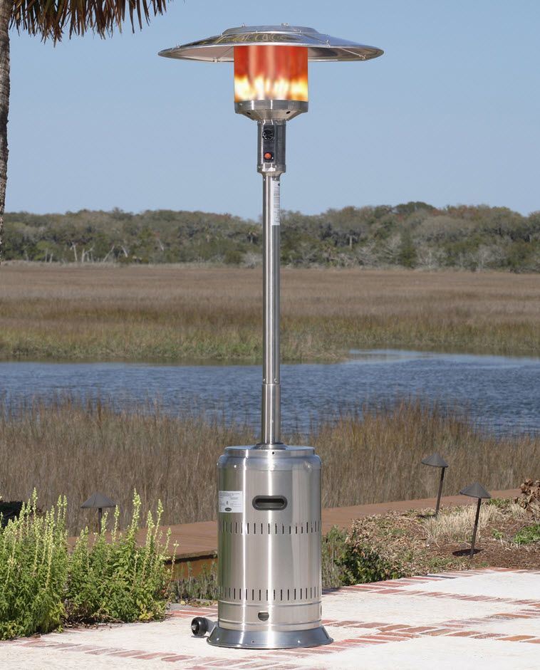 Patio Heaters Warm Up The Night Patio Heater Gas Patio Heater Fire Sense