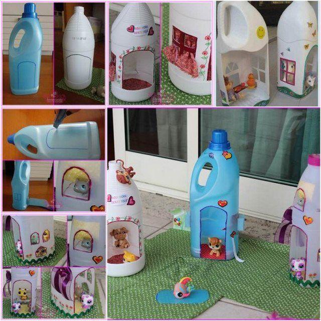 701e06e8c4a7 28 καινούργιες και εύκολες ιδέες για diy κατασκευές από πλαστικά μπουκάλια!
