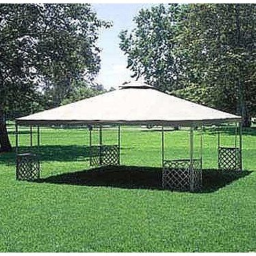 JRA 20 x 20 Gazebo Replacement Canopy Samu0027s Club & JRA 20 x 20 Gazebo Replacement Canopy Samu0027s Club | outside living ...