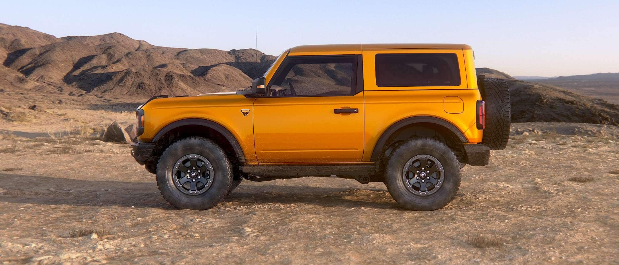 2021 Ford Bronco Suv The 2 Door 4 Door Bronco Is Back In 2020