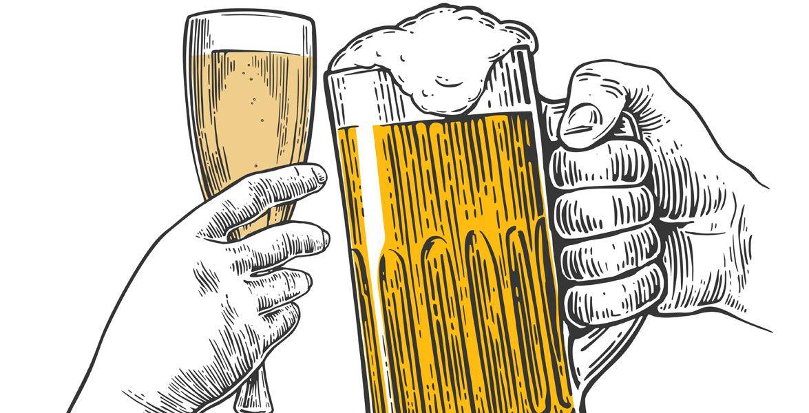 Champagner oder billig bier unileben auf for Billig leben