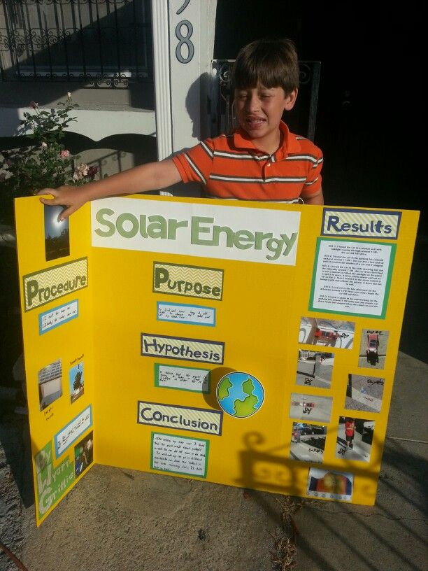 Solar energy science project 3rd grade wyatt 39 s projects for Solar energy projects for kids