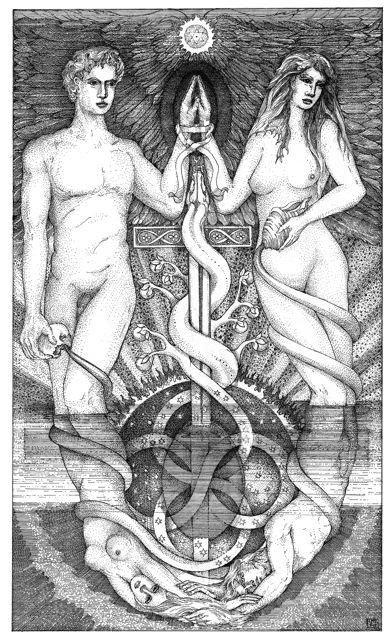 The Principle of Gender, always in operation on every plane of existence - TAROT ReVISIONed - Leigh J. McCloskey