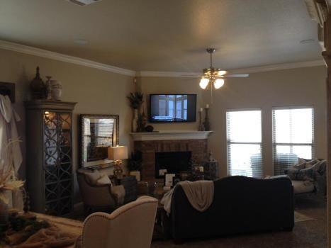 Betenhough parade living room w tv and surround sound - Living room surround sound systems ...