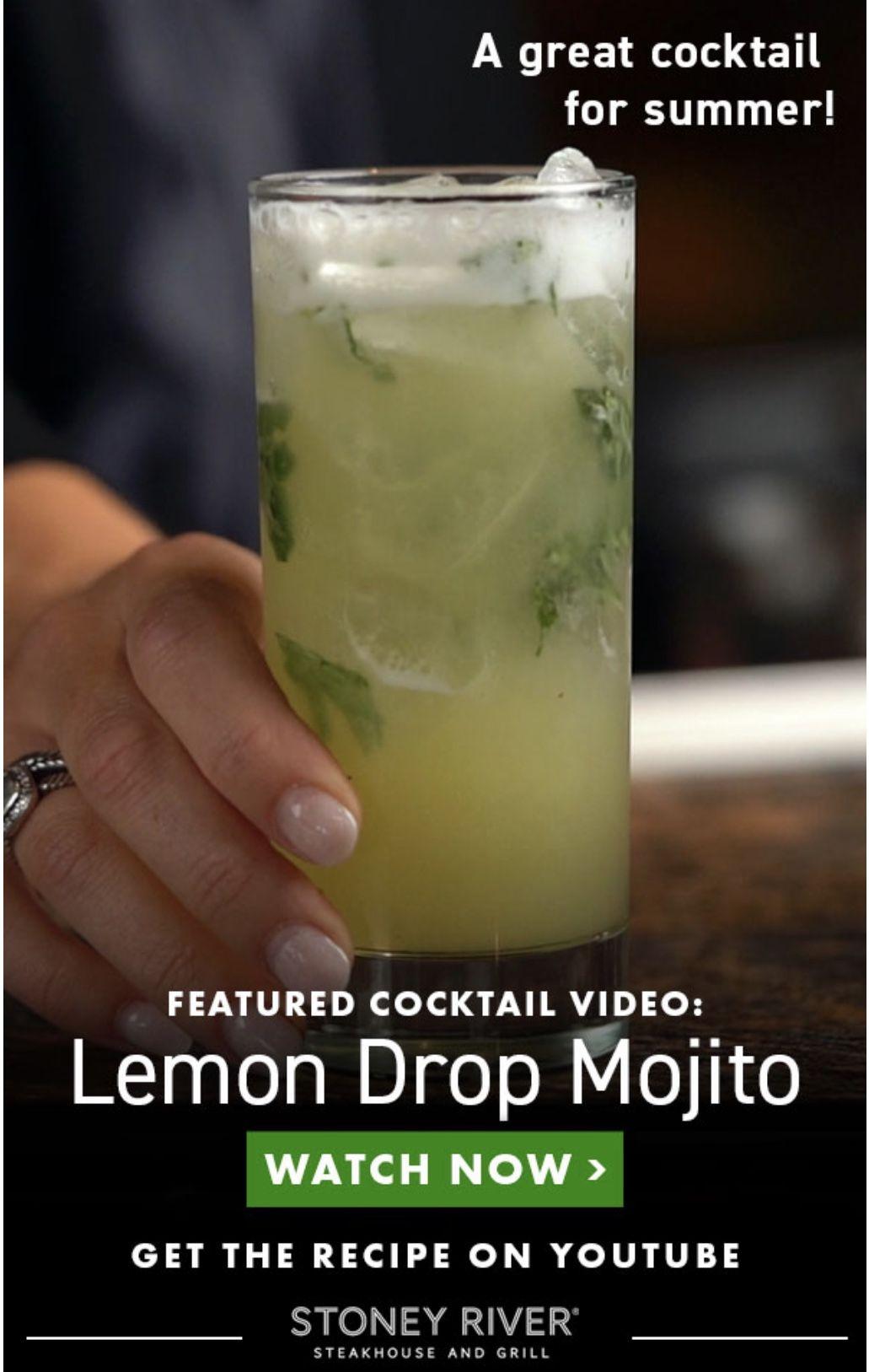 Lemon Drop Mojito J Alexander S Holdings Youtube Lemon Drop Mojito Lemon