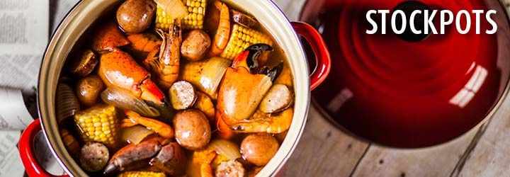 Enamel on steel stockpots heat quickly to boil water and retain what were cooking lowcountry boil forumfinder Image collections