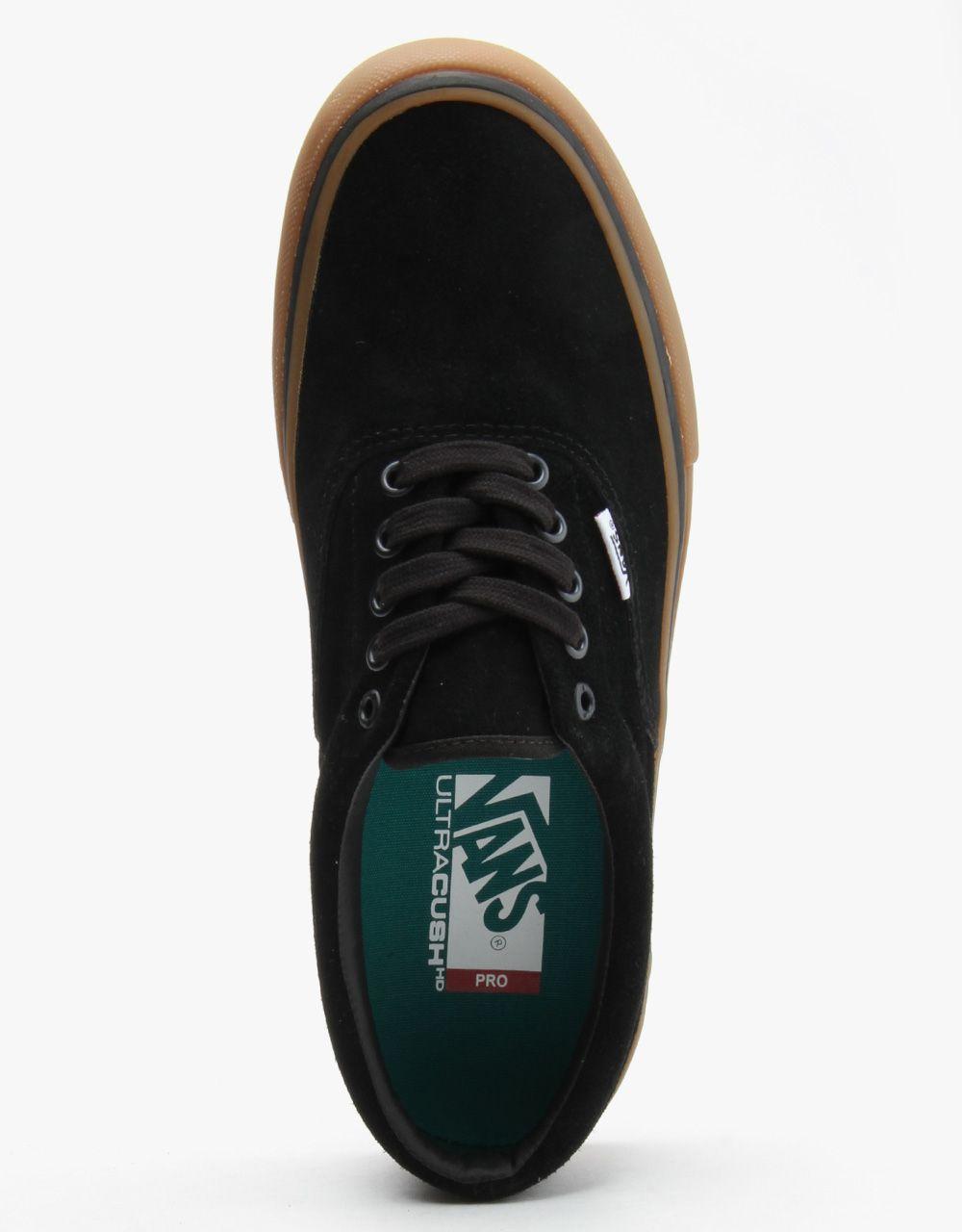 Skate shoes uk - Vans Era Pro Skate Shoes Black Gum Routeone Co Uk