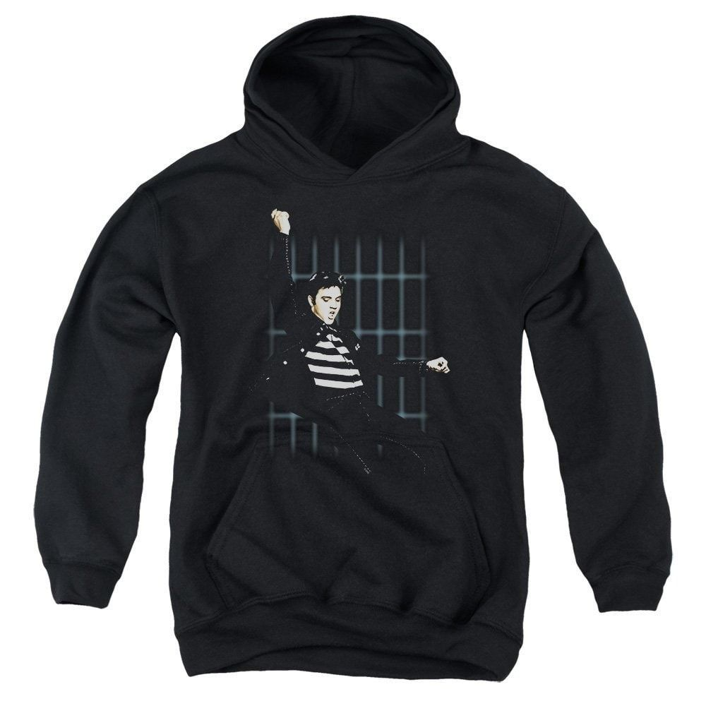 Elvis - Blue Bars Youth Pull-Over Hoodie