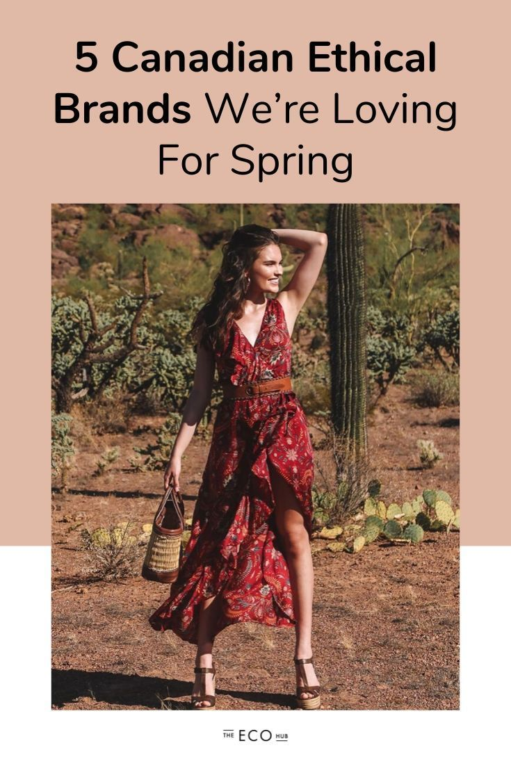 5 Canadian Ethical Fashion Brands We're Loving For Spring | The Eco Hub