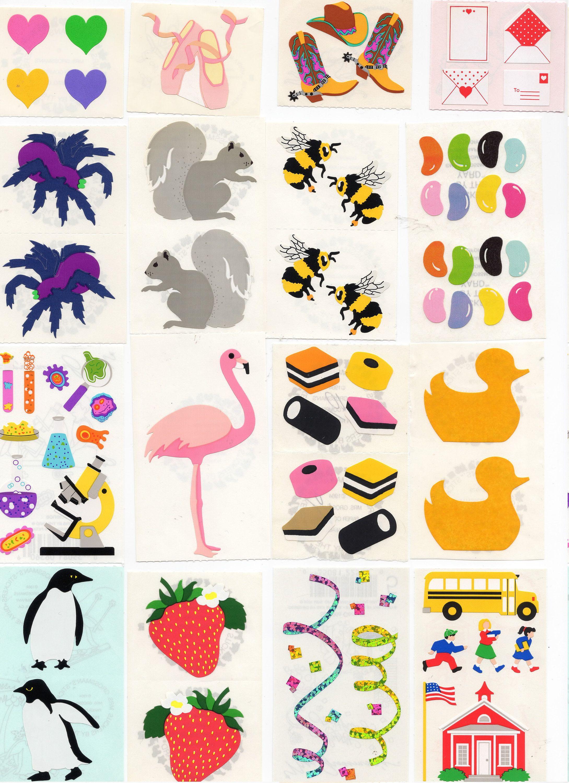 Mrs Grossman OPAL SEA LIFE Stickers 1//2 SHEET