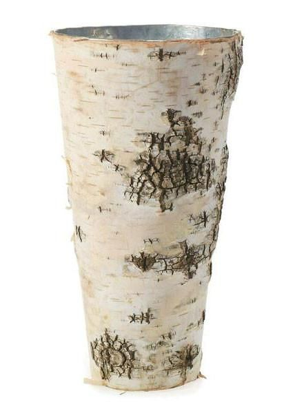 Birch Vase with Zinc Interior - 9 | Weddings and Wedding