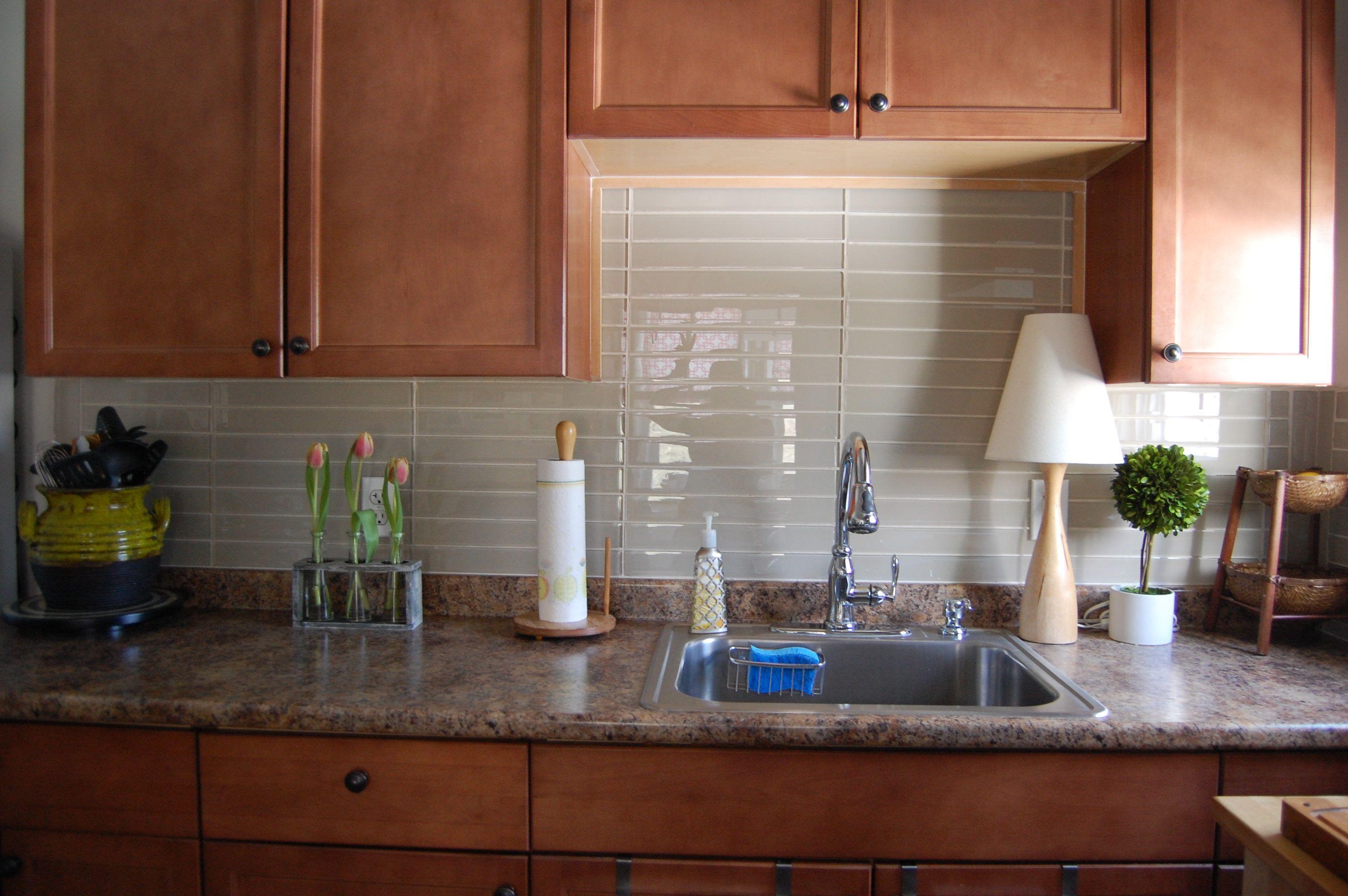 Beeindruckende U Bahn Glas Fliesen Für Küche Küche