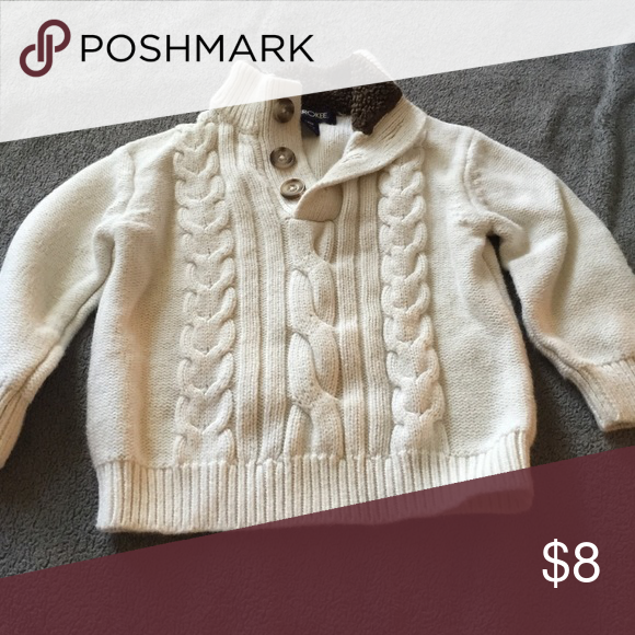 Cream Sweater size 18 months | D, Tops and Cable knit