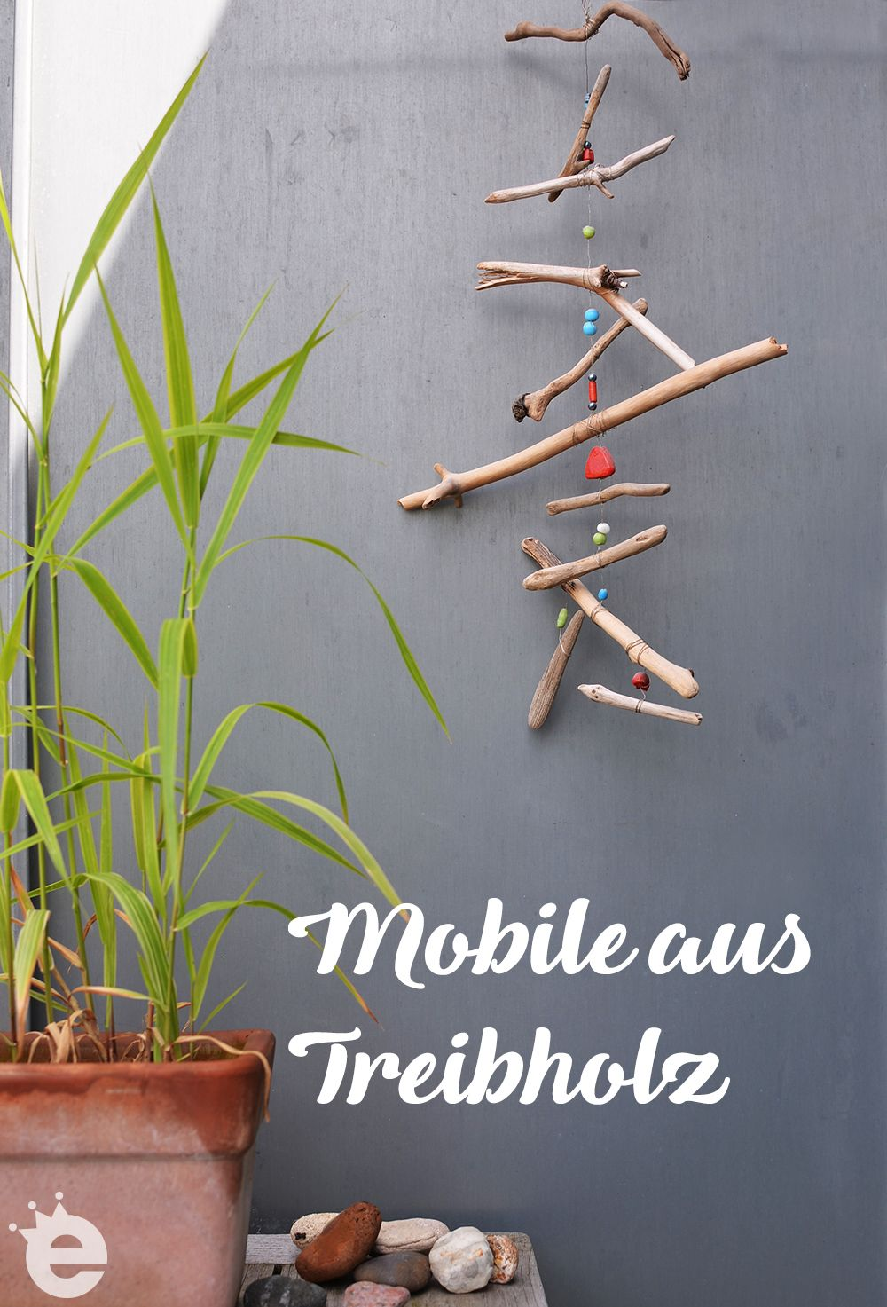Mobile Basteln Mit Treibholz Aus Bornholm Diy Mobile Basteln