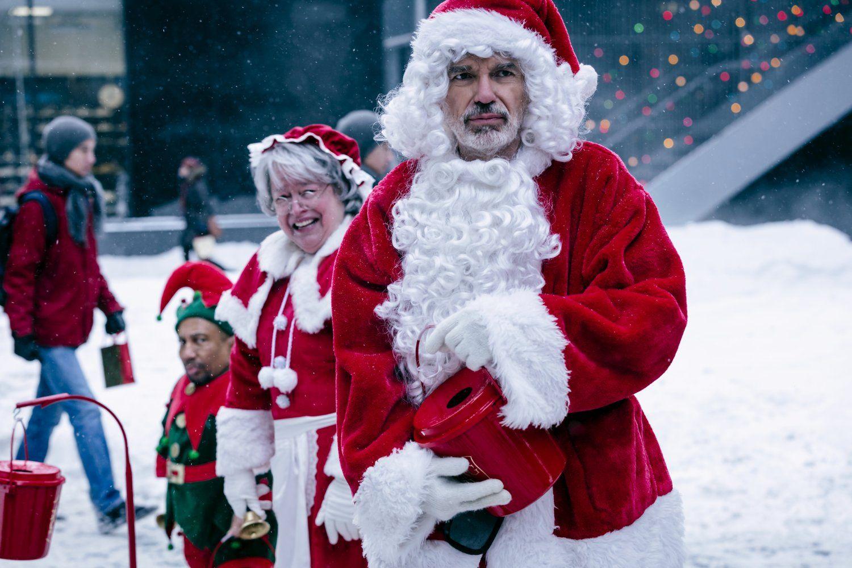Bad Santa 2 Kathy Bates And Billy Bob Thornton 7 Bad Santa Winter Movies Movies