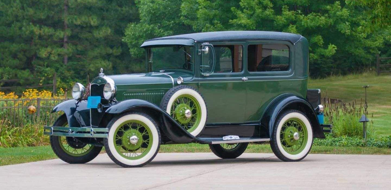 1931 Ford Model A Tudor Deluxe in Dallas, TX (Plano) on Turo; Green ...
