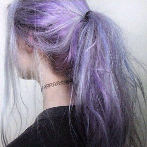 cker, girl, hair, hair dye, purple, soft grunge, softgrunge ...