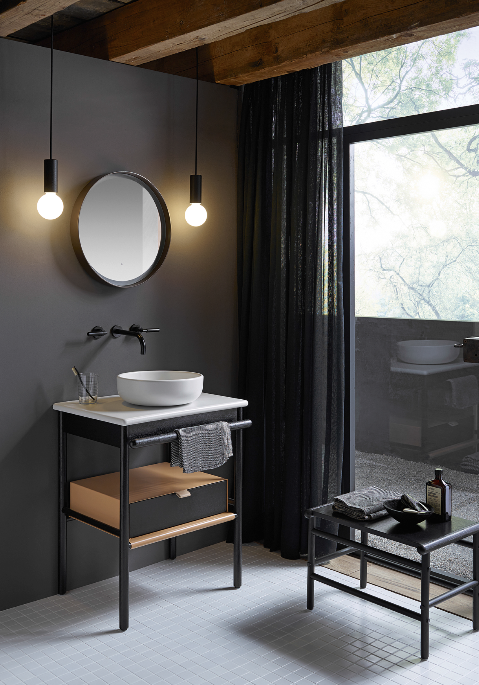 Mya Design Studio Altherr For Burgbad For Small Bathrooms
